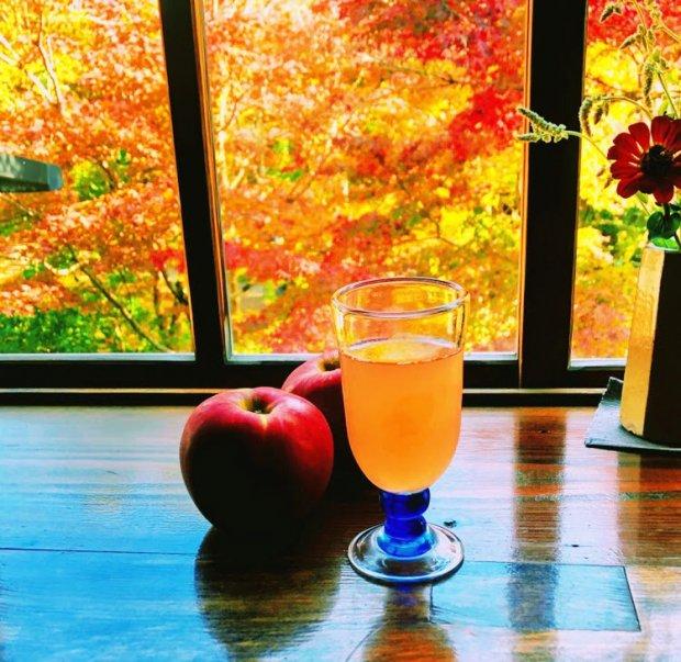 紅玉りんごジュース