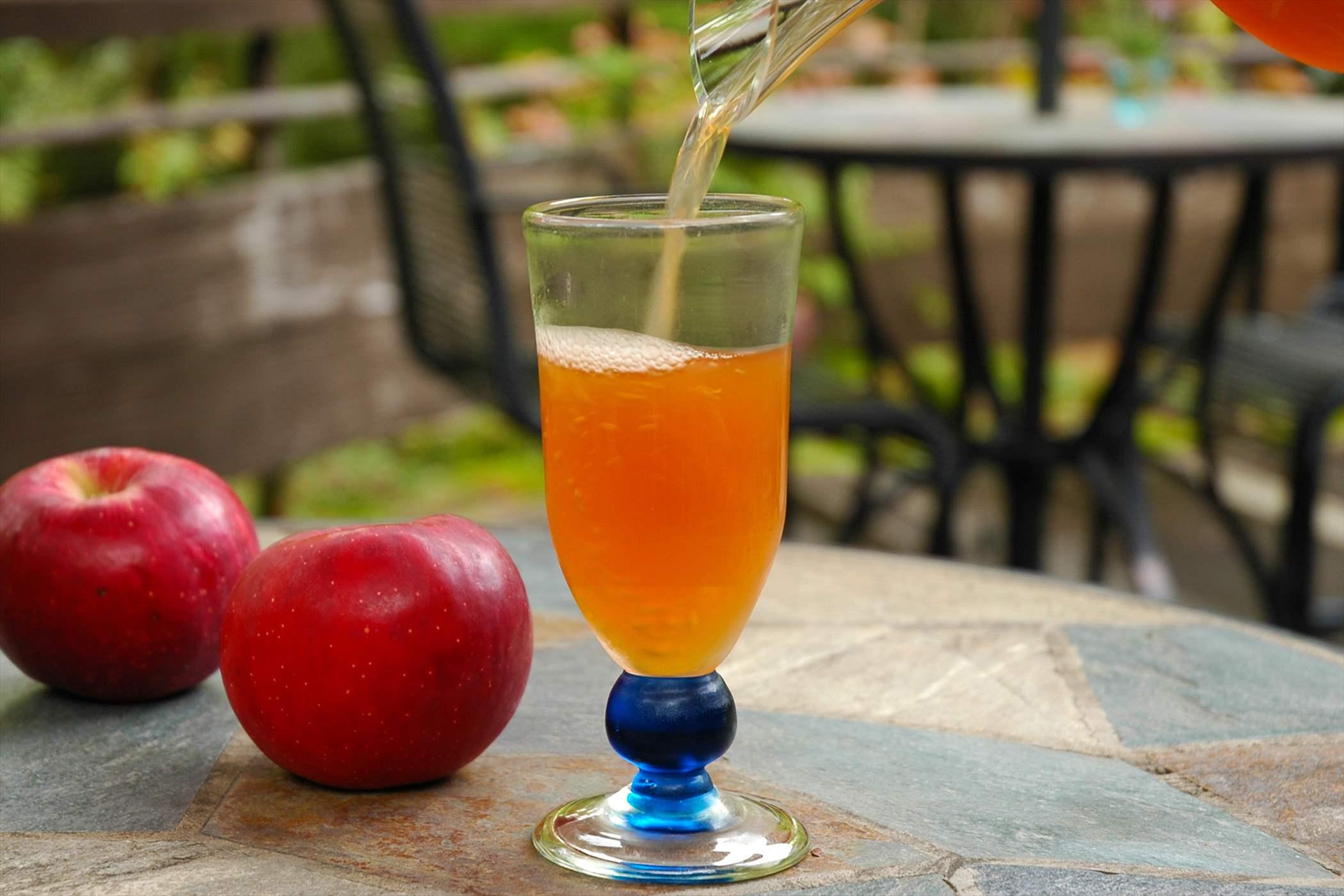 生搾り 紅玉林檎ジュース